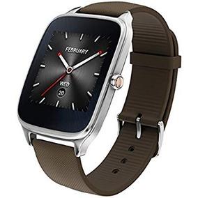 Asus Zenwatch 2smartwatch, 1.63, Silver Case, Brown