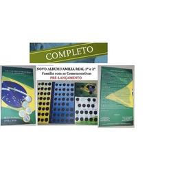 Álbum Moeda Família Real 1994-2018 - Lançamento Completo Top