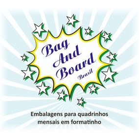 Bag And Board Para Quadrinhos Em Formatinho. C/ 100 Unid.
