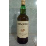 Botella De Whiky Chequers De Litro