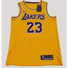 e0c3675b1 Camiseta Regata Lakers Lebron James 23 Swingman