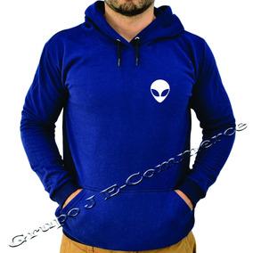 2a2c49a120f40 Moletom Tumblr - Moletom Masculinas Azul marinho no Mercado Livre Brasil