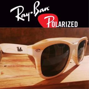 3065f7dfaddec Oculos De Sol Wayfarer Estilo Madeira Rb2140 Polarizado