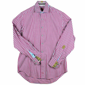 Camisa Robert Graham X Collection Para Hombre Talla S