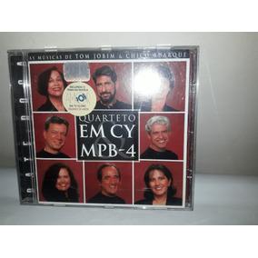Cd Quarteto Em Cy & Mpb-4 1997 Bate Boca As De Tom & Chico