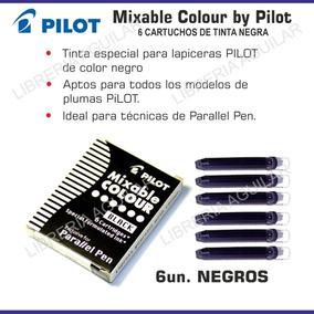 Cartuchos Parallel Pen De Tinta Negra Pilot Mixable Colour