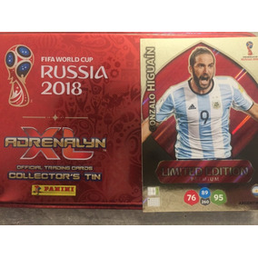 Cards Copa 2018 Adrenalyn Limited Edition Gonzalo Higuaín