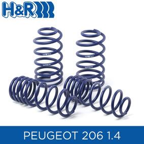 Espirales Progresivos H&r Sport Alemanes - Peugeot 206 1.4