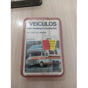 Super Trunfo Da Grow Anos 80 Veiculos Camping