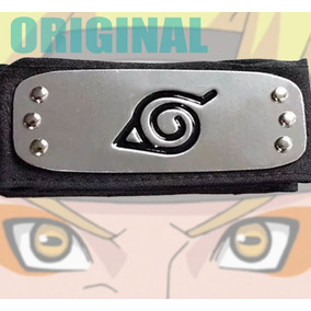 Bandana Naruto Original Vila Da Folha Shippuden Metal