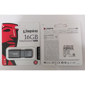 Pendrive Kinqston De 16 Gb Datatreveler 100 Usb 3.1 Original