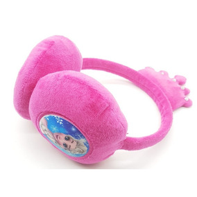 Aquecedor De Orelhas Protetor Earmuff Infantil Frozen Coroa 5802ff95f4b
