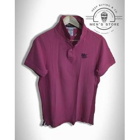 Camiseta Polo Camisa Masculino Rosa Tommy Hilfiger