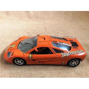 1991 Mclaren F1 Gtr Jägermeister Orange Escala 1/18 Ut