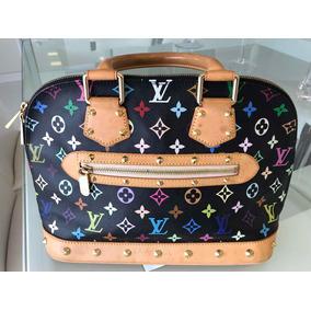 Bolsa Louis Vuitton Alma Multicolore Perfeita Original
