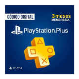 Playstation Plus Membresia 3 Meses Usa - Tienda