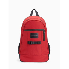 Mochila Calvin Klein Original Para Laptop 13 Pulgadas Roja