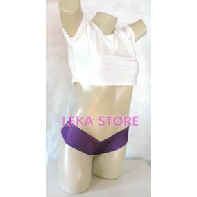 Kit Com 2 Mini Short De Lycra - Exclusivo Leka Store