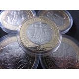 Moneda 20 Pesos Zacatecas 2014 Villa Capsula De Regalo Nueva