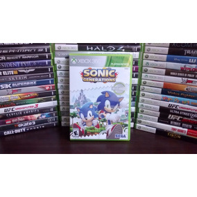 Sonic Generations - Xbox 360 Original - Frete R$ 12