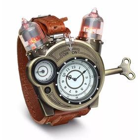 Reloj Tesla Análogo De Cuero Exclusivo Original De Thinkgeek
