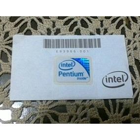 Procesador Intel Inside Pentium Etiqueta Adhesiva