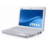 Desarme Pieza Repuesto Netbook Msi Wind U100 Blanco