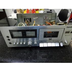 Tape Deck Cd-3500 - Peças Tudo Funcionando Consulte