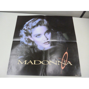 1 Poster Madonna - Live To Tell 51 X 51 Cm