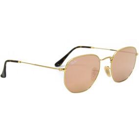 6d7bd5bb69ec4 Rayban Hexagonal Rosa - Óculos De Sol Ray-Ban no Mercado Livre Brasil