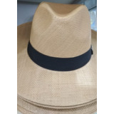 Chapéu Moda Panamá Aba Larga Casual Praia Masculino Feminino e54fc769852