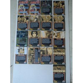 Cards-naruto:ninja Ranks:panini-lote Com 17 Cards