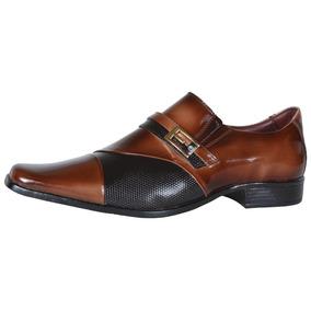 Sapato Social Masculino Gofer Dark Red 0701a/pu