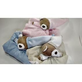 Naninha De Plush Blanket Urso Nino Zip