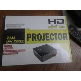 Hd Mini Led Projector 24 W Low-power