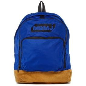 Marc Jacobs Ultimate Mochila Bordado Logo Mazarine Blue Nwt bceab169316d5