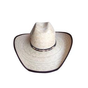 Sombrero Vaquero Para Hombre De Palma Fina Con Envio Gratis a84303038be