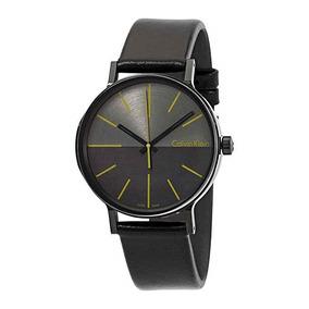Reloj Hombre Piel Calvin Klein K7y214cl Envio Gratis Msi
