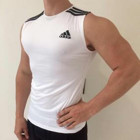 Lote De 3 Playeras De Lycra/algodón Para Gym