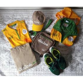 c08a9fe128 Uniforme Correios Olimpiadas - Coleções Diversas no Mercado Livre Brasil