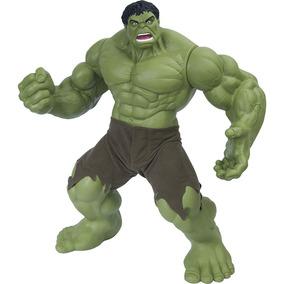 Boneco Hulk Verde Premium 55 Cm - Gigante Mimo Original