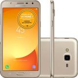 Samsung Galaxy J7 Neo Tv J701 16gb 13mp 4g Dourado Vitrine 1