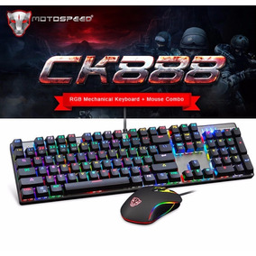 Kit Gamer Motospeed Ck888 Teclado E Mouse