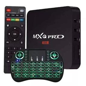 Smart Tv Box Pro 4k 2gb Ram 16gb Youtube Netflix Teclado Led