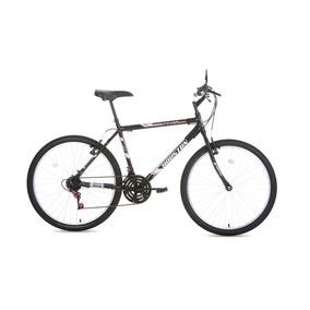 Bicicleta Passeio Aro 26 Foxer Hammer Preta Houston