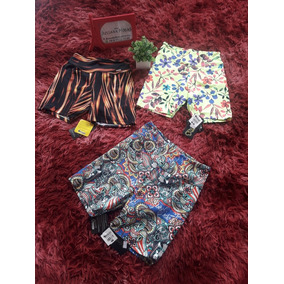 Kit 3 Shorts Oxintty