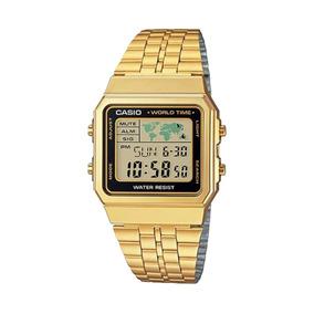 ccdca78efbb Relógio Casio A500wga 1df Dourado - Relógios De Pulso no Mercado ...