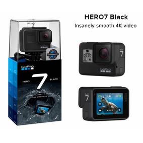 Gopro Hero 7 Black Câmera Filmadora De Ação 4k Uhd P/ D Agua