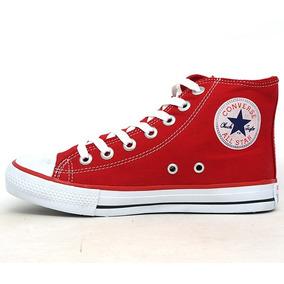 All Star Cano Alto Vermelho - Converse Casuais no Mercado Livre Brasil 370b9999d19a3