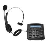 Telefone Headset Hst-8000 Com Id Elgin Conj Para Telefonista